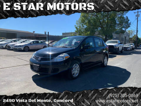 2012 Nissan Versa for sale at E STAR MOTORS in Concord CA