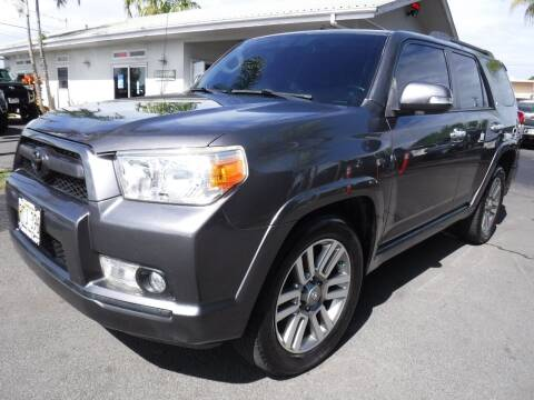 2012 Toyota 4Runner for sale at PONO'S USED CARS in Hilo HI