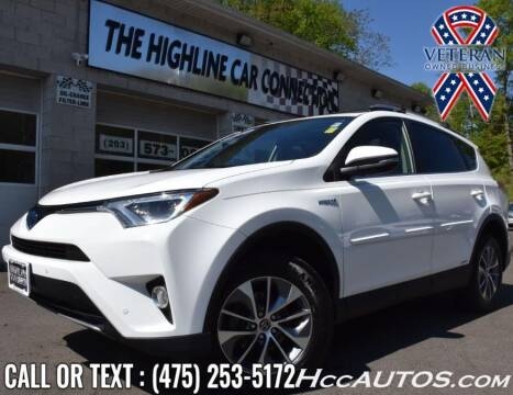 2017 Toyota RAV4 Hybrid for sale at The Highline Car Connection in Waterbury CT