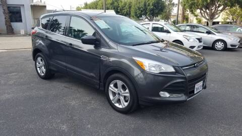 2016 Ford Escape for sale at In-House Auto Finance in Hawthorne CA