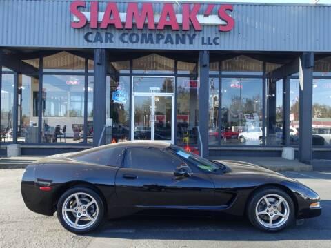 2003 Chevrolet Corvette for sale at Siamak's Car Company llc in Salem OR