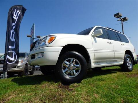 2001 Lexus LX 470 for sale at National Motors in San Diego CA
