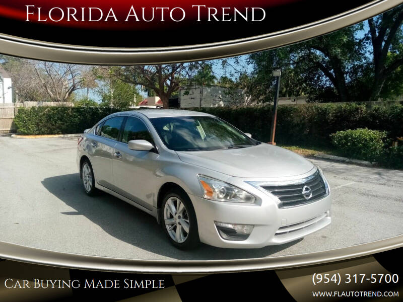 2013 Nissan Altima for sale at Florida Auto Trend in Plantation FL