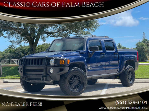 2009 HUMMER H3T for sale at Classic Cars of Palm Beach in Jupiter FL