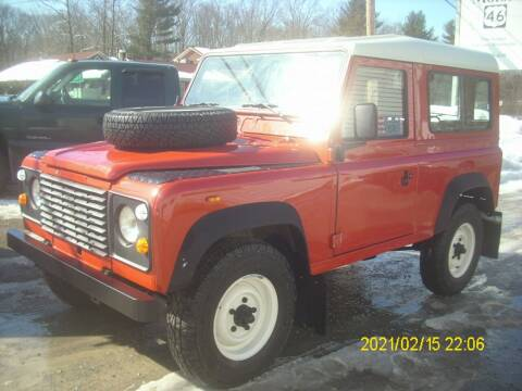 1986 Land Rover Defender for sale at Motors 46 in Belvidere NJ