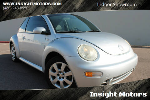 2003 Volkswagen New Beetle for sale at Insight Motors in Tempe AZ