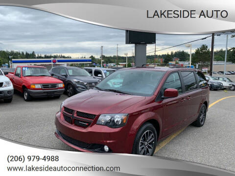 2018 Dodge Grand Caravan for sale at Lakeside Auto in Lynnwood WA