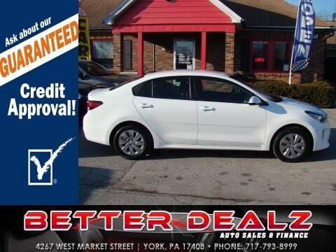 2018 Kia Rio for sale at Better Dealz Auto Sales & Finance in York PA