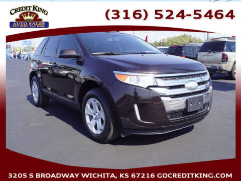 2013 Ford Edge for sale at Credit King Auto Sales in Wichita KS