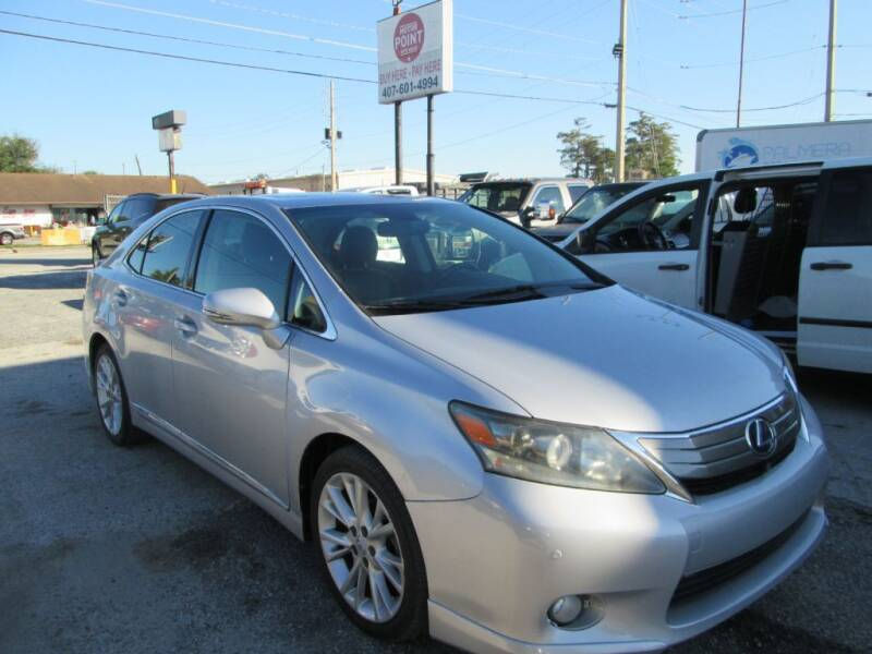 2010 Lexus HS 250h for sale at Motor Point Auto Sales in Orlando FL