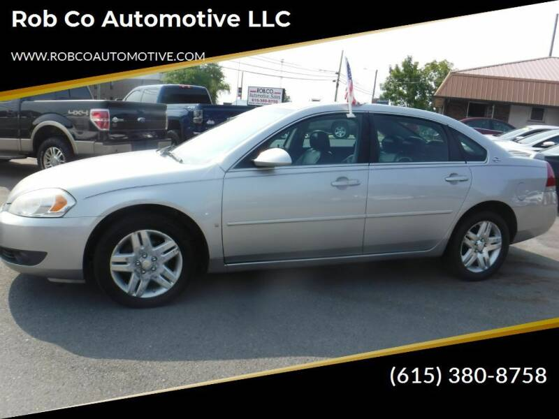 2007 Chevrolet Impala for sale at Rob Co Automotive LLC in Springfield TN