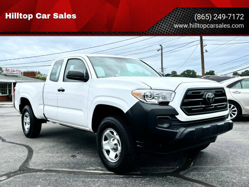 2018 Toyota Tacoma for sale at Hilltop Car Sales in Knoxville TN
