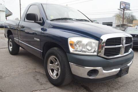 2008 Dodge Ram Pickup 1500 for sale at Green Ride Inc in Nashville TN