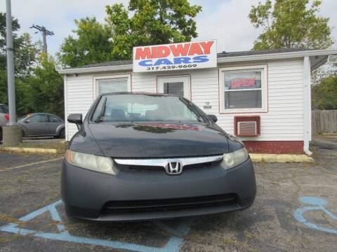 2006 Honda Civic for sale at Midway Cars LLC in Indianapolis IN