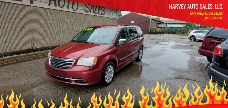 2012 Chrysler Town and Country for sale at Harvey Auto Sales, LLC. in Flint MI