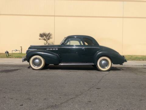 1940 Buick Special Eight for sale at HIGH-LINE MOTOR SPORTS in Brea CA