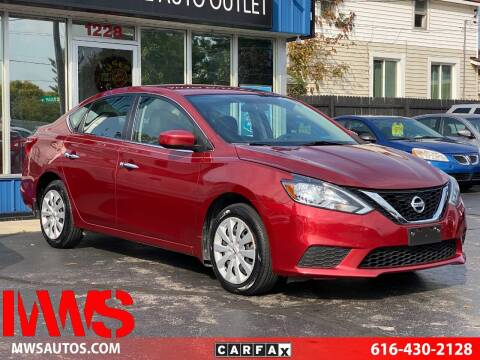 2016 Nissan Sentra for sale at MWS Wholesale  Auto Outlet in Grand Rapids MI