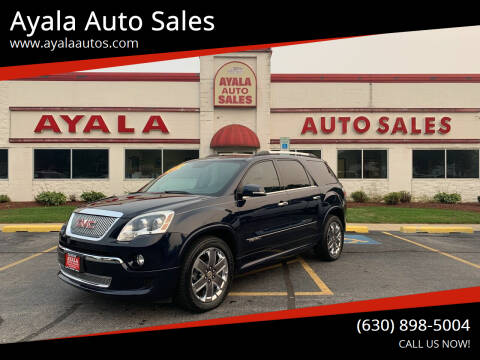 2012 GMC Acadia for sale at Ayala Auto Sales in Aurora IL