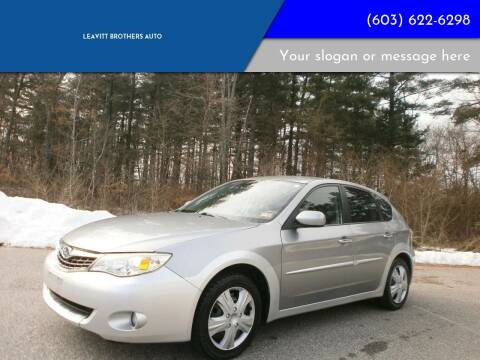 2009 Subaru Impreza for sale at Leavitt Brothers Auto in Hooksett NH