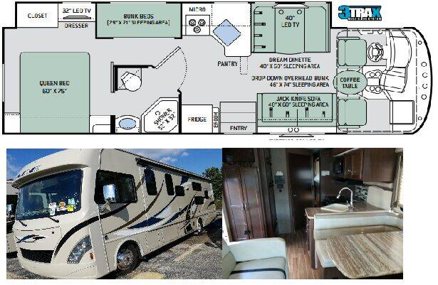 2017 Thor Motor Coach Ace 30.2 for sale at S & M WHEELESTATE SALES INC - Class A in Princeton NC