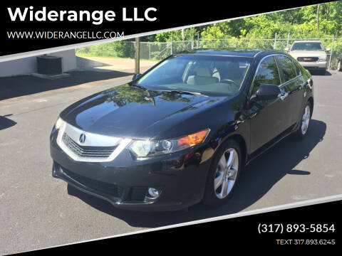 2009 Acura TSX for sale at Widerange LLC in Greenwood IN