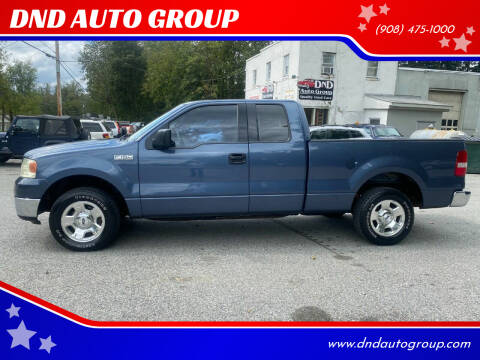 2004 Ford F-150 for sale at DND AUTO GROUP in Belvidere NJ