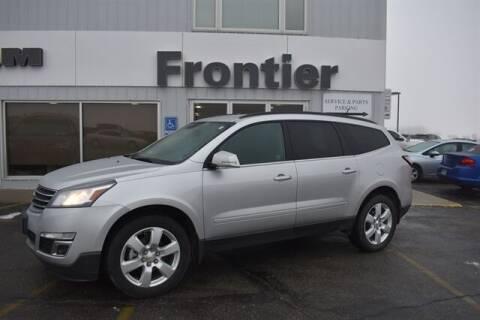 2017 Chevrolet Traverse for sale at Frontier Motors Automotive, Inc. in Winner SD