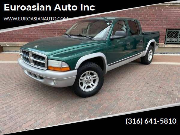 2003 Dodge Dakota for sale at Euroasian Auto Inc in Wichita KS