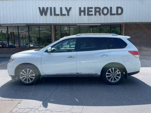 2014 Nissan Pathfinder for sale at Willy Herold Automotive in Columbus GA