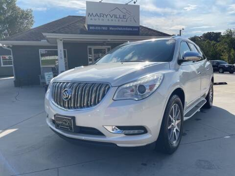 2014 Buick Enclave for sale at Maryville Auto Sales in Maryville TN
