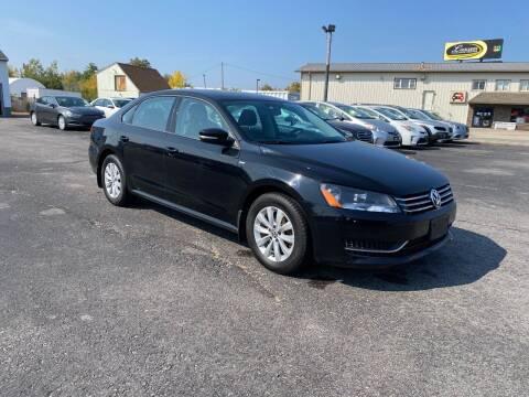 2015 Volkswagen Passat for sale at Riverside Auto Sales & Service in Portland ME
