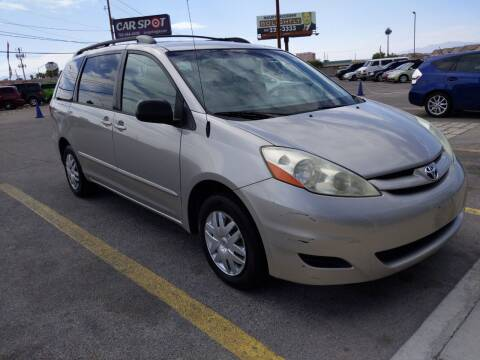 2006 Toyota Sienna for sale at Car Spot in Las Vegas NV