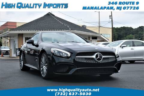 2018 Mercedes-Benz SL-Class for sale at High Quality Imports in Manalapan NJ