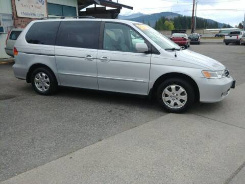 2003 Honda Odyssey for sale at Low Auto Sales in Sedro Woolley WA