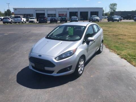 2016 Ford Fiesta for sale at BORGMAN OF HOLLAND LLC in Holland MI