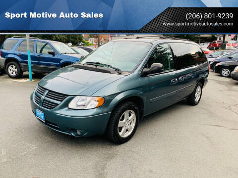 2005 Dodge Grand Caravan for sale at Sport Motive Auto Sales in Seattle WA