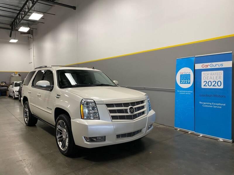 2012 Cadillac Escalade for sale at Loudoun Motors in Sterling VA