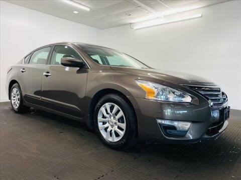 2015 Nissan Altima for sale at Champagne Motor Car Company in Willimantic CT