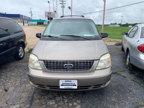 2005 Ford Freestar for sale at SPRINGFIELD PRE-OWNED in Springfield IL