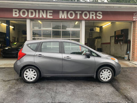 2016 Nissan Versa Note for sale at BODINE MOTORS in Waverly NY