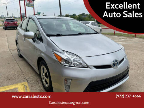 2013 Toyota Prius for sale at Excellent Auto Sales in Grand Prairie TX
