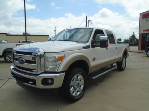 2013 Ford F-250 Super Duty for sale at Premier Foreign Domestic Cars in Houston TX
