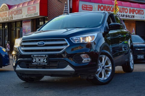 2019 Ford Escape for sale at Foreign Auto Imports in Irvington NJ