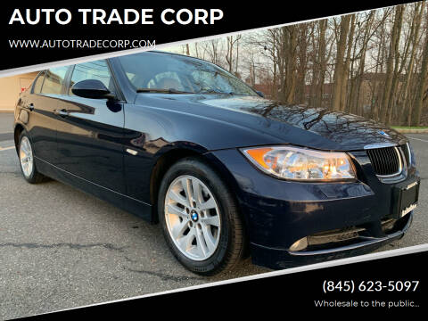 2007 BMW 3 Series for sale at AUTO TRADE CORP in Nanuet NY