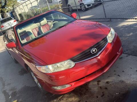 2003 Toyota Camry Solara for sale at Boss Automotive in Hollywood FL