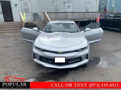 2017 Chevrolet Camaro for sale at Popular Auto Mall Inc in Newark NJ