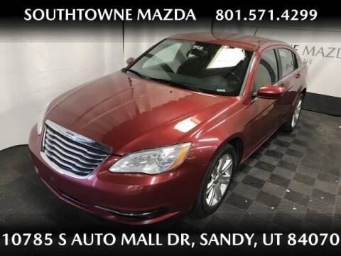 2011 Chrysler 200 for sale at Southtowne Mazda of Sandy in Sandy UT