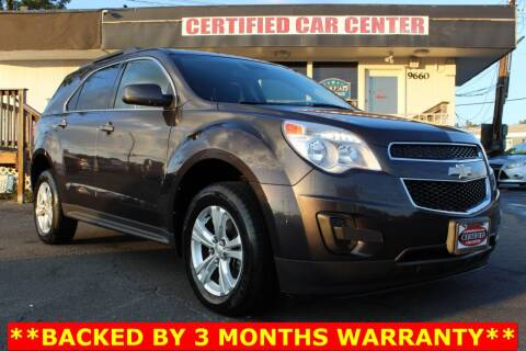 2015 Chevrolet Equinox for sale at CERTIFIED CAR CENTER in Fairfax VA