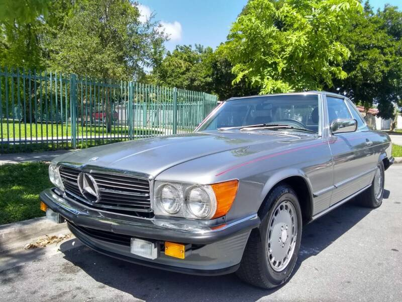 1988 Mercedes-Benz 560-Class for sale at Exotic Auto Brokers in Miami FL