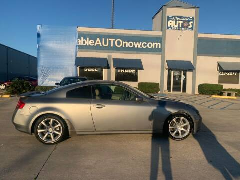 2003 Infiniti G35 for sale at Affordable Autos in Houma LA